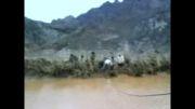 سیل در روستای ملو