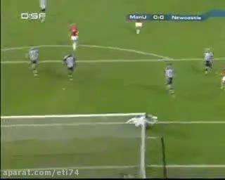 بازی خاطره انگیز منچستر یونایتد 6 - 0 نیوکاسل