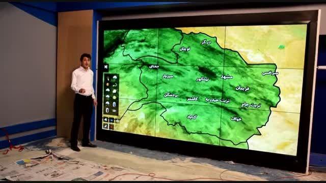 ویدئو وال لمسی 168 اینچی خراسان رضوی (مشهد)