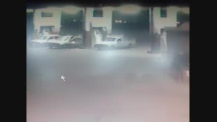 انفجار در سوختگیری CNG