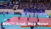 خلاصه ست دوم والیبال ایران و روسیه (بازی رفت - لیگ جهانی)
