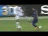 10 گل برتر لیونل مسی در فصل 2011 - 2012