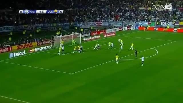 هایلایت کامل بازی لیونل مسی مقابل کلمبیا (کوپا آمریکا)