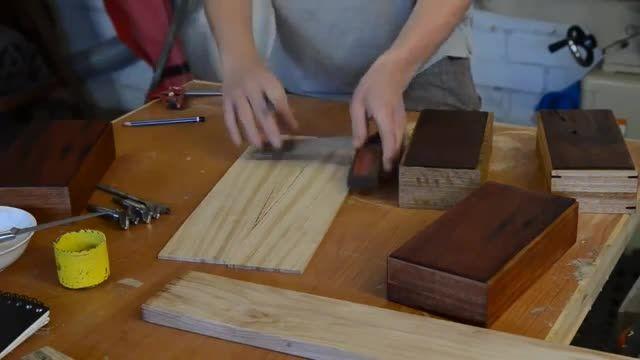 ساخت جعبه چوبی