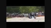 حرکات خطرناک با موتور سنگین