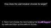 استفاده از Wall Breaker هنگام حمله