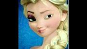 چهره ی واقعی السا ( بدون آرایش )
