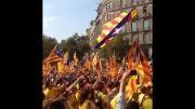 مراسم روز استقلال کاتالونیا
