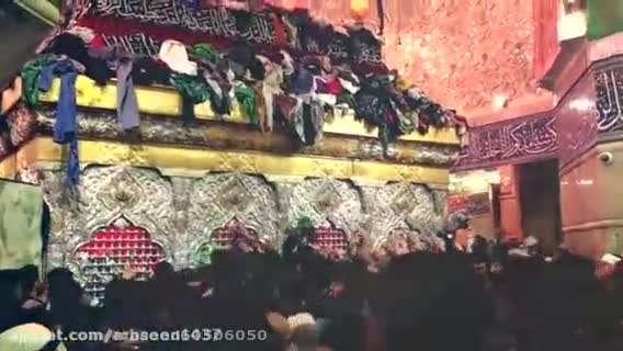 کربلایی حسین طاهری اربعین 94 قدم قدم پای علم