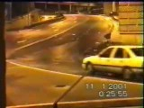 جاده لغزنده و تصادف