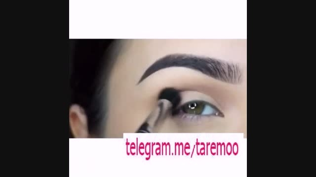 اموزش آرایش چشم با خط چشم و سایه در تارمو