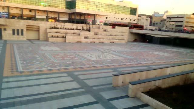 بزرگترین سنگ فرش جهان-میدان ایپک(منصور) تبریز