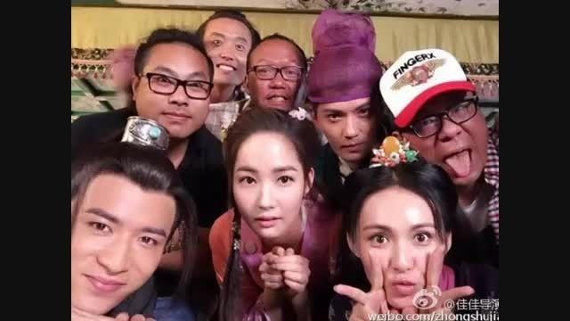 سلفی پارک مین یانگ در سریال چینی Braveness of the Ming