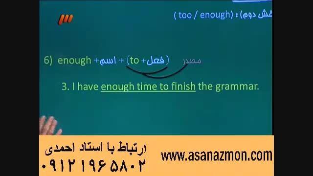 آموزش و حل مثال کنکور درس انگلیسی - 4