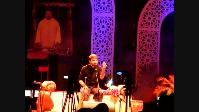 سامی یوسف - اجرای ترانه آتش در کنسرت تطوان(مراکش)2015