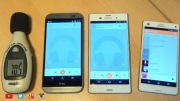 Xperia Z3 vs Xperia Z3 Compact vs ONE M8_Speaker Test