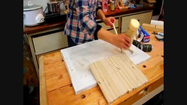 آموزش ساخت : سینی چوبی بسازید