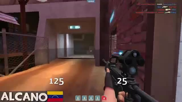 TF2: How to be a professional trick shooter