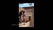 لحظاتی قبل از تیراندازی دختر بچه 9 ساله به مربی...!