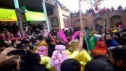 مراسم تعزیه خوانی هیئت حضرت ابوالفضل (ع) روستای آورزمان