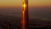 پرش هیجان انگیز از بلند ترین برج جهان(برج خلیفه دبی)...
