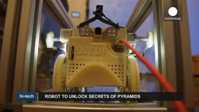 ساخت رباتی برای کشف اسرار هرم گیزه در مصر