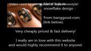 آموزش طراحی و دیزاین سه بعدی ( 3D ) دانه های زیبای برف