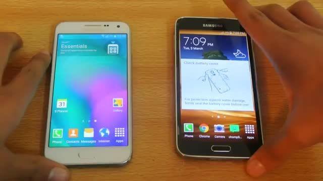 Galaxy E5 vs Galaxy s5