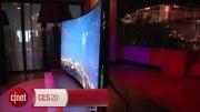 سامسونگ نخستین تلویزیون خمیده UHD را در نمایشگاه CES معرفی ک