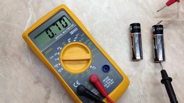 روش جالب برای تشخیص باتری نو از فرسوده