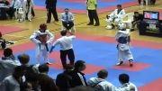 ضربه دولیو چاگی ناک اوتی در مسابقات  تکواندو اوپن آمریکا2010
