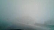 برف در مسیر هراز - اطراف امام زاده هاشم - ۱۹ فروردین ۹