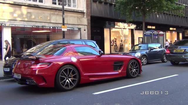 لوکس ترین ماشین های جهان در لندن..! HD