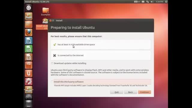 آموزش نصب ابونتو لینوکس روی کامپیوتر یا مجازی ساز