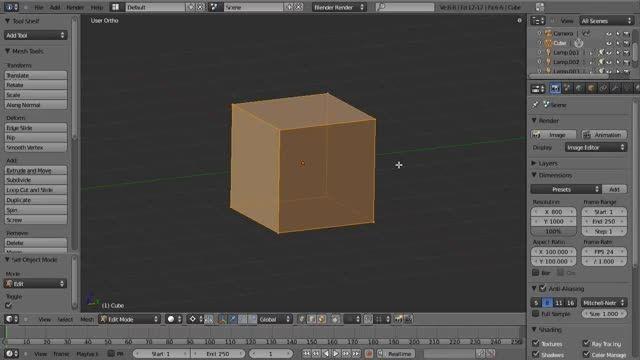 ۱۲ − سری آموزشی مدلینگ در Blender از CGCookie