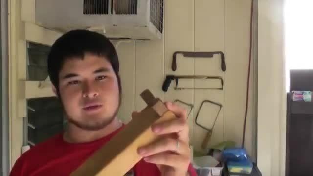 ساخت زوبین به روش ساده قسمت 1
