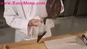 آموزش تزئینات شکلاتی برای تزئین انواع کیک و دسر