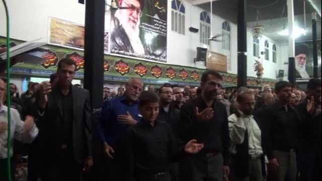 فیلم عزاداری سید و سالار شهیدان در غدیریه جهرم