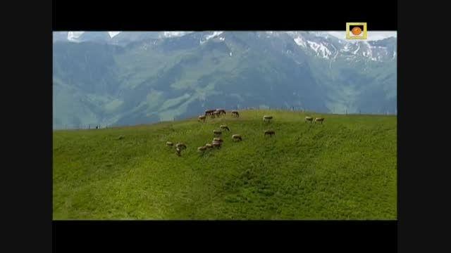 مستند بر فراز آلپ با دوبله فارسی -قله های دست نخورده