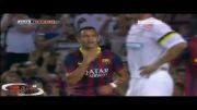 گل های بازی بارسلونا vs سانتوس | 3 - 0 | الکسیس سانچز