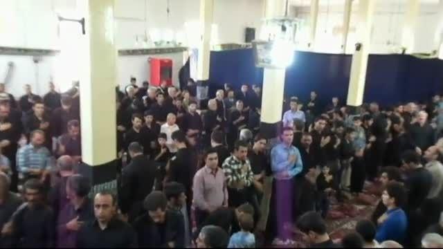 مداحی آقای عاملی مهربانی در مسجد سنگی مهربان-21 رمضان94