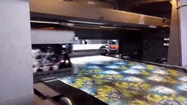 دستگاه چاپ پارچه عرض 180