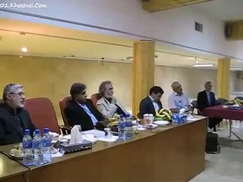 سخنرانی محمدرضا شجریان در مورد آواز ایرانی