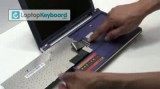 آموزش تعمیرات کامپیوتر تعویض کیبرد لپ تاپ سامسونگ مدل Samsun