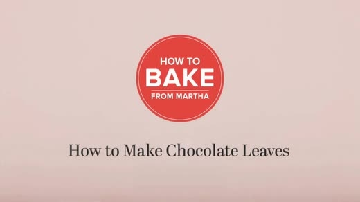 روش درست کردن برگ های شکلاتی