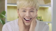G-Dragon shows off his milky skin in CF
