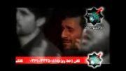 گریه شدید احمدی نژاد در هیئت جاج محمود کریمی
