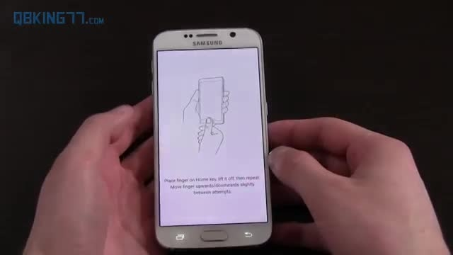 سنسور اثر انگشت Galaxy S6