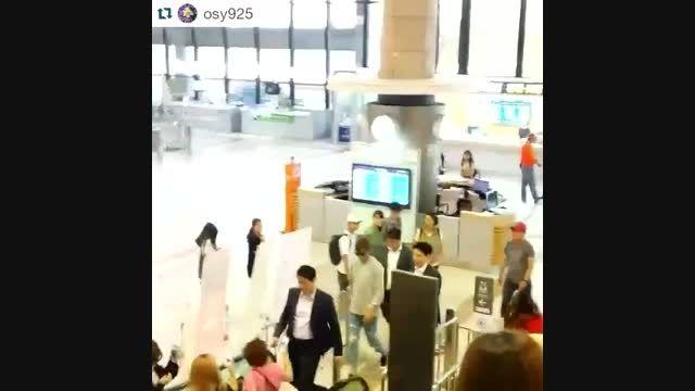 ♥اوپا لی مین هو ♥۲۰۱۵.۷.۱۲ فرودگاه Gimpo