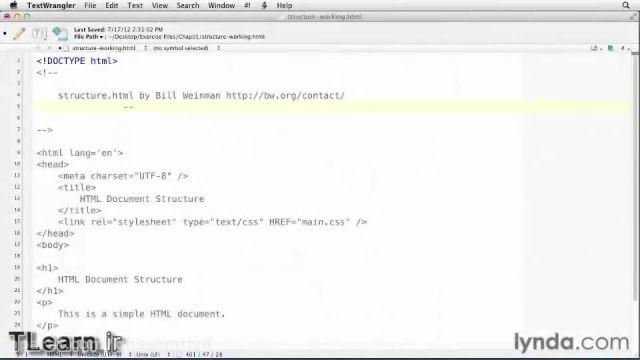 آموزش html لیندا دوبله فارسی - 1
